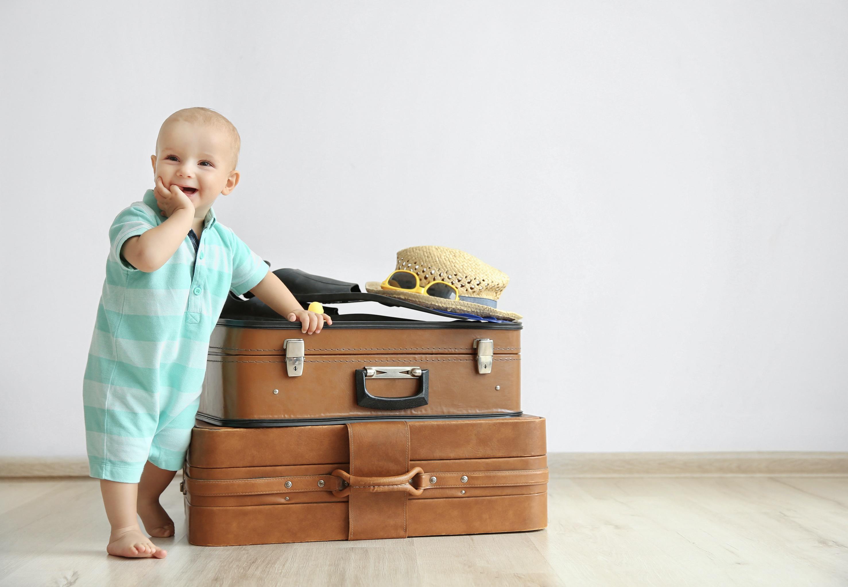 vacaciones bebé