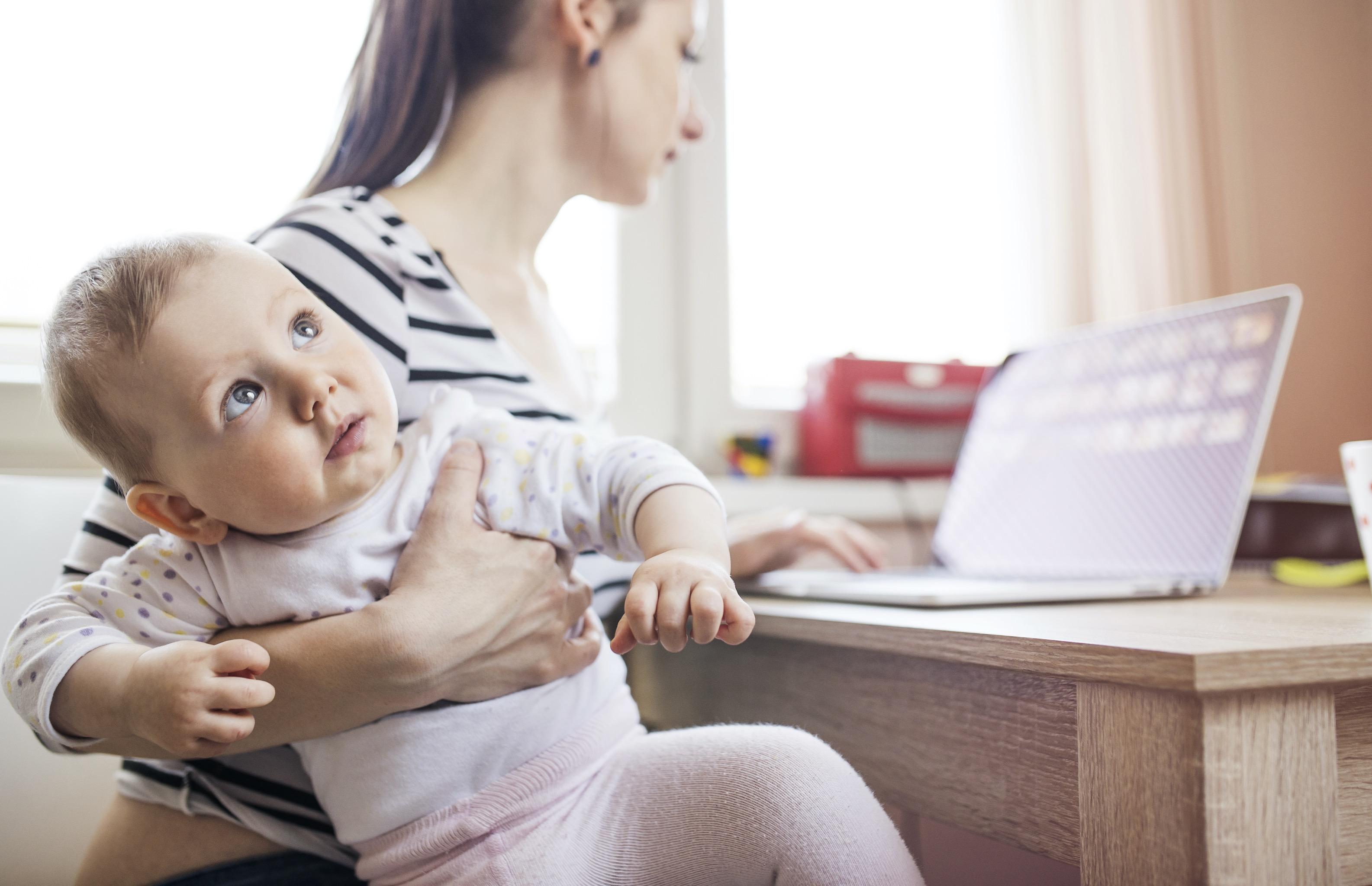la vuelta al trabajo tras vacaciones o baja maternal